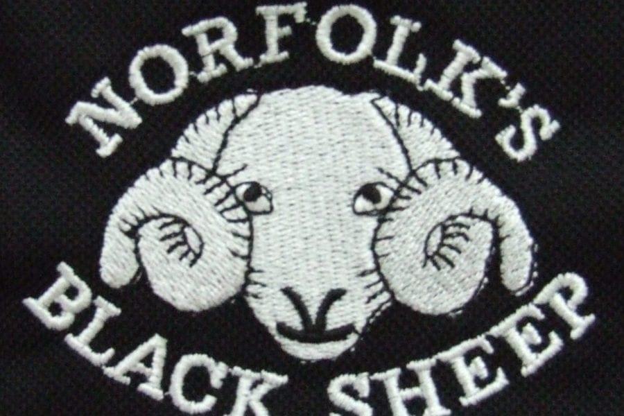 Black Sheep CC - polo shirt detail
