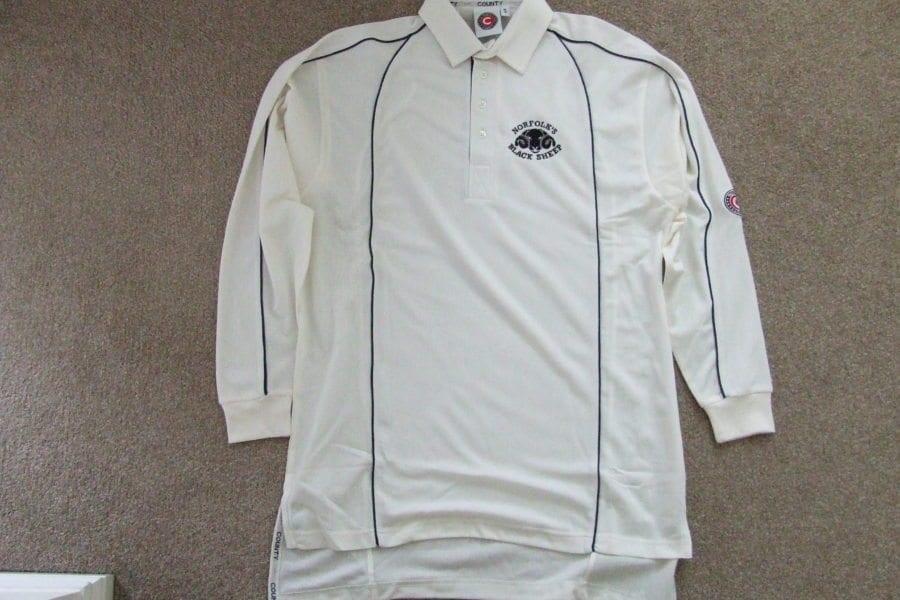 Black Sheep cricket shirt